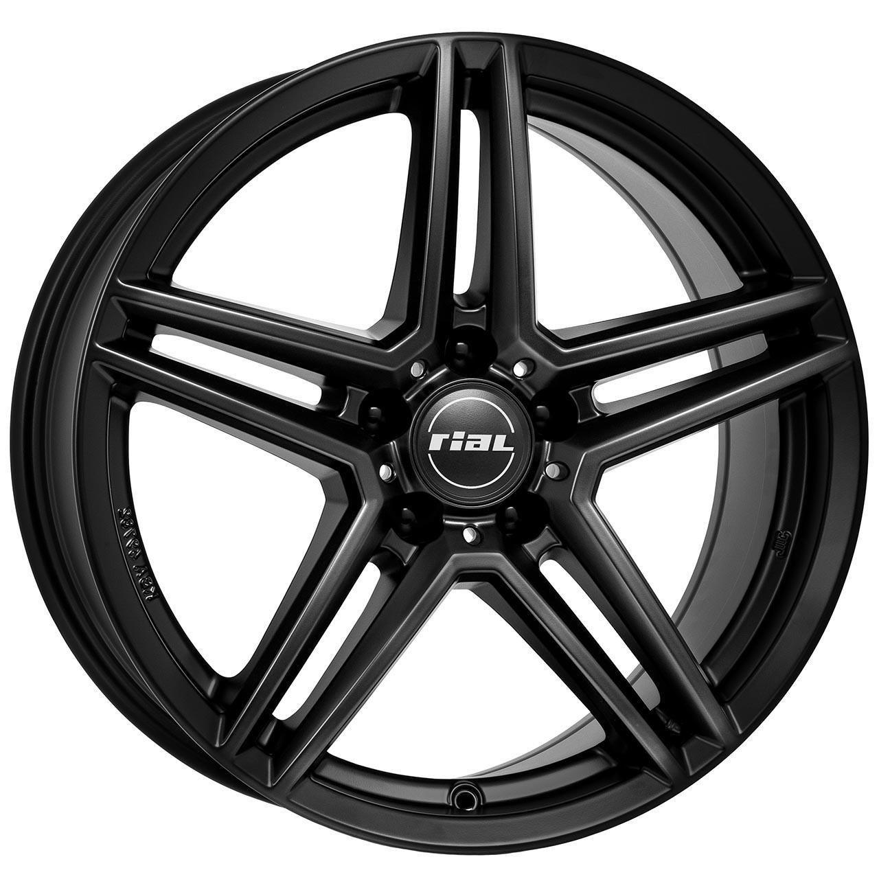 Rial M10 Racing schwarz 6.5x17 5x112 ET44