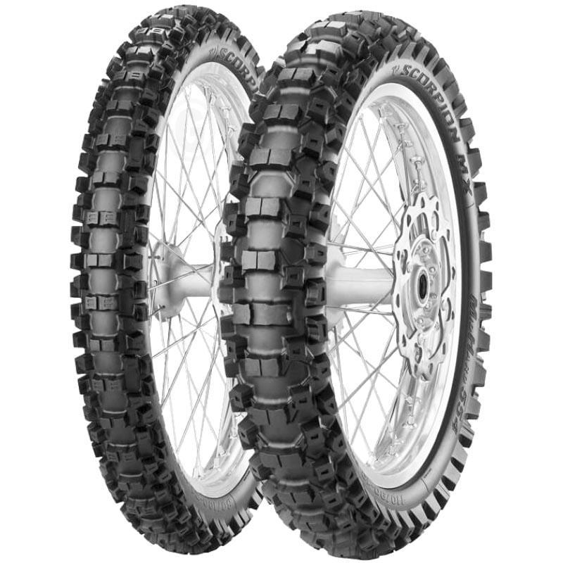 Pirelli Scorpion MX MID Soft 32 NHS 110/85-19 M/C TT