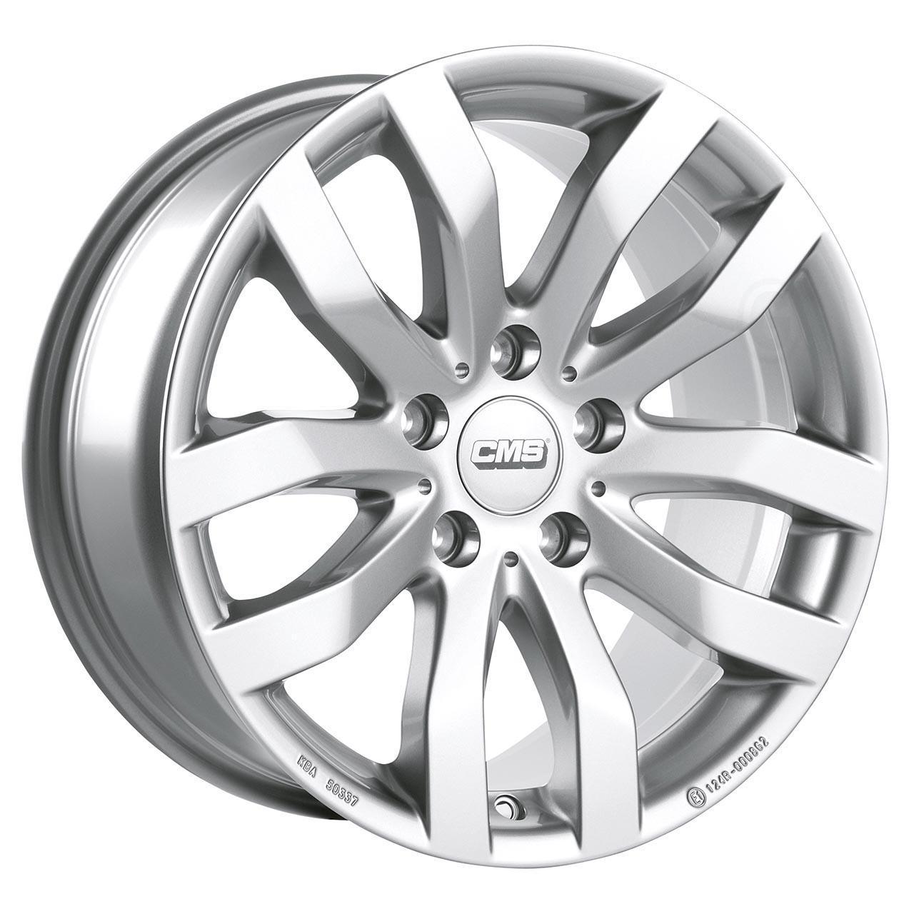 CMS C22 Racing silver 6.5x16 5x114.3 ET40