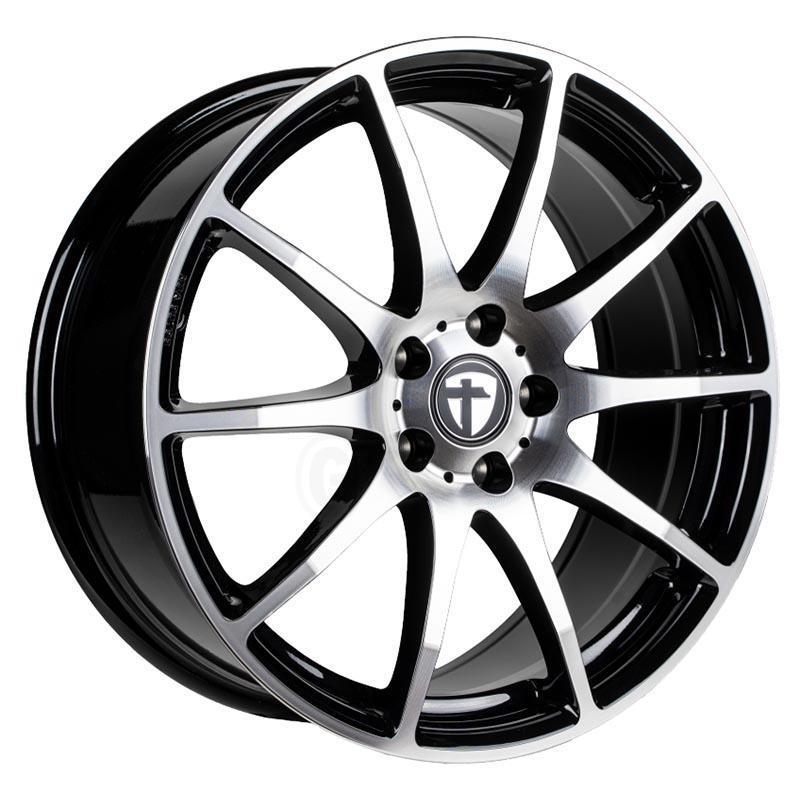Tomason Tn1 Black polished 6.5x16 5x112 ET38