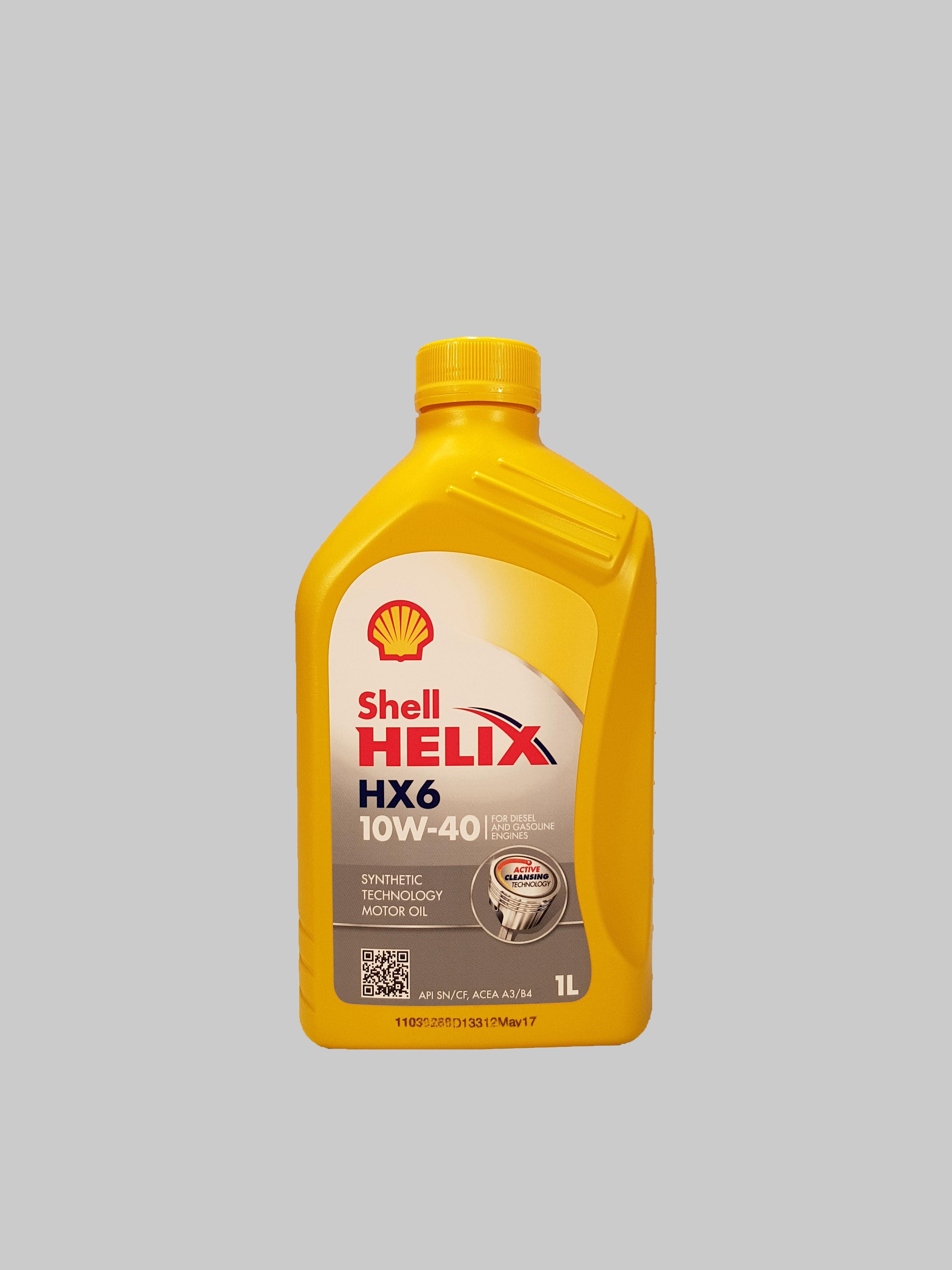 Shell Helix HX6 10W-40 1 Liter