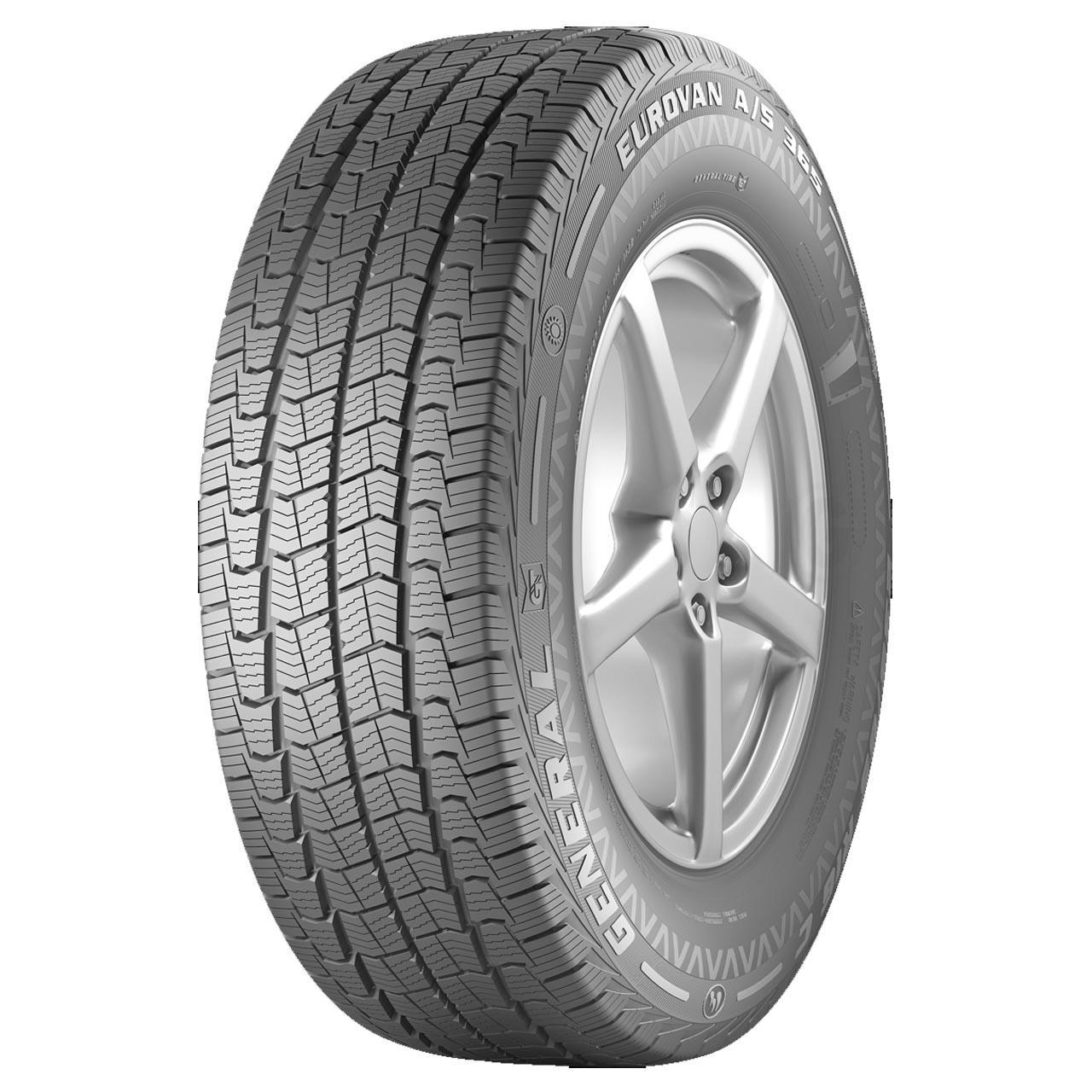 General Tire Eurovan AS 365 235/65R16C 115/113R