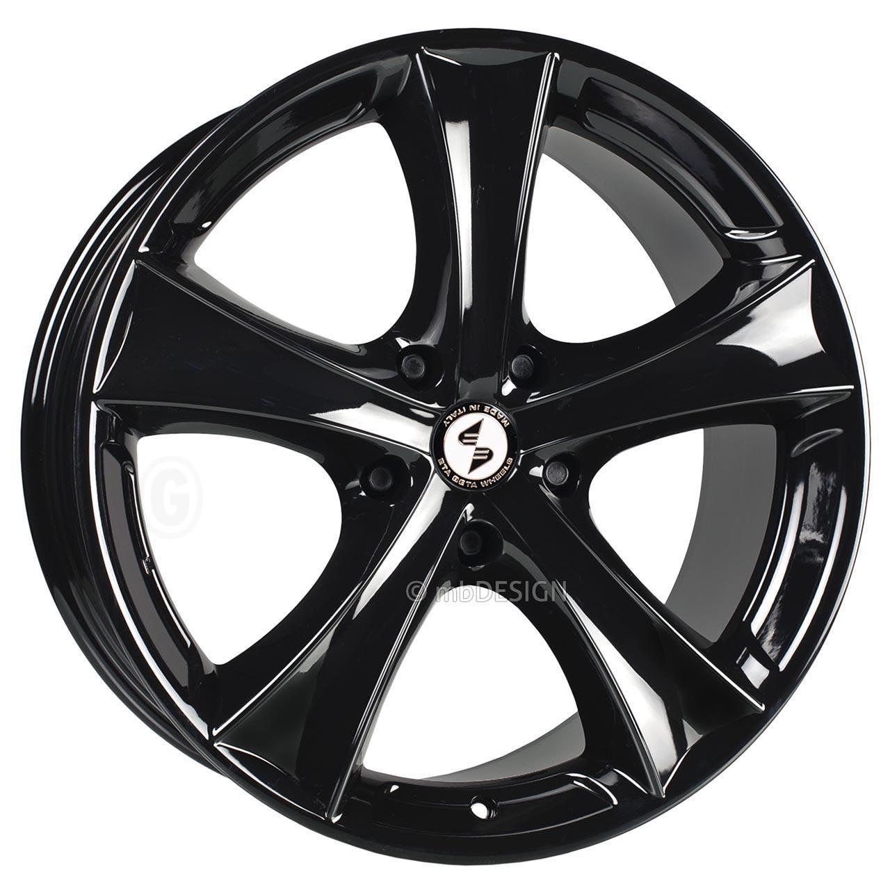 Etabeta Tettsut Black shiny 9x19 5x120 ET45