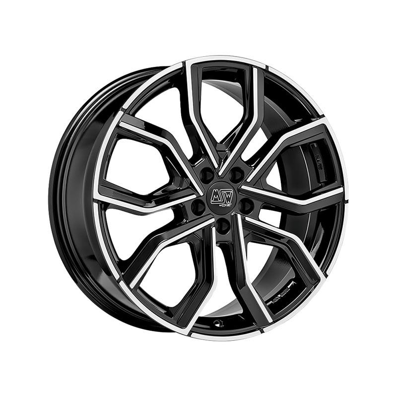 MSW Msw 41 Gloss black full polished 8.5x20 5x112 ET35