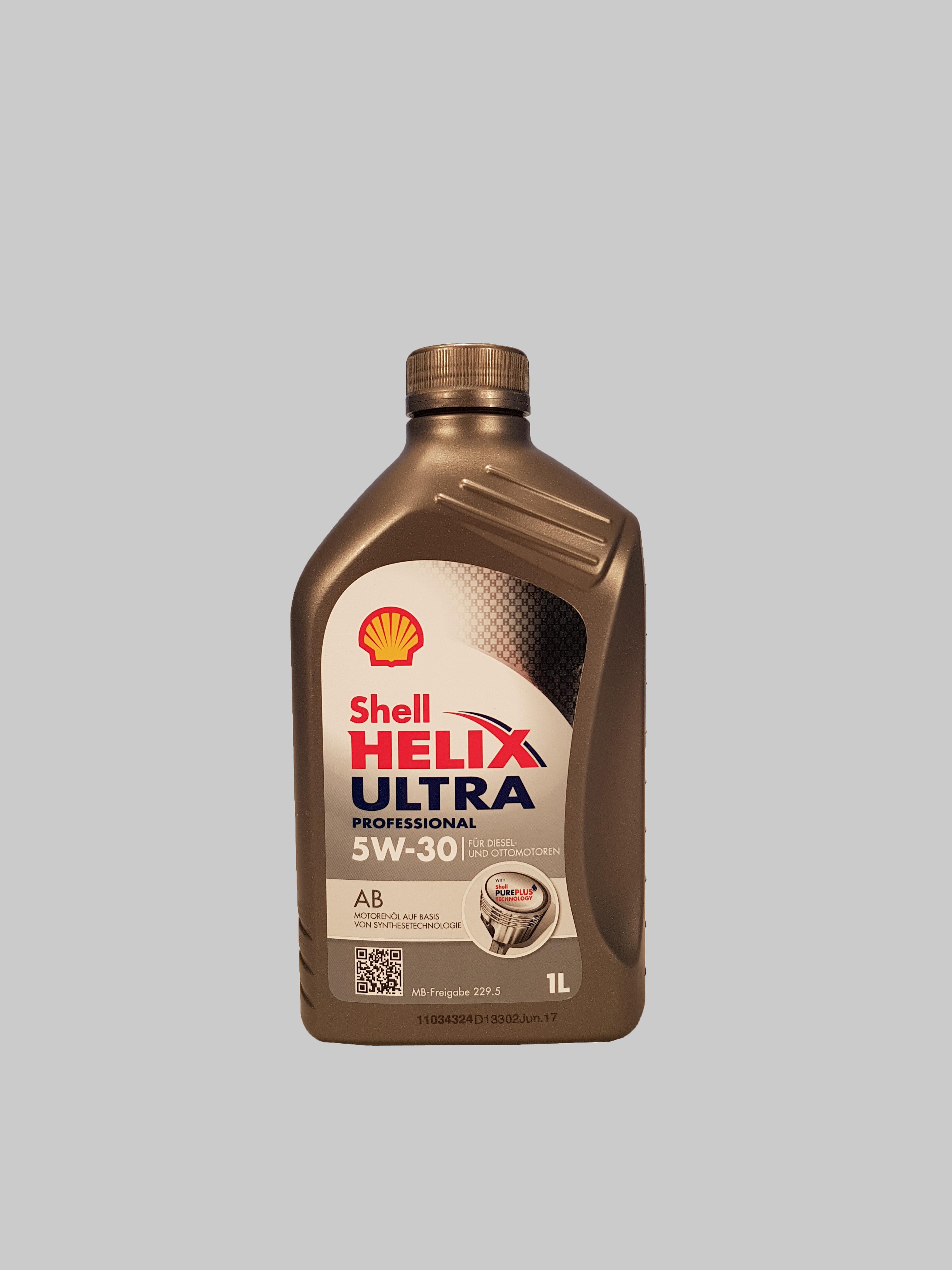 Shell Helix Ultra Professional AB 5W-30 1 Liter