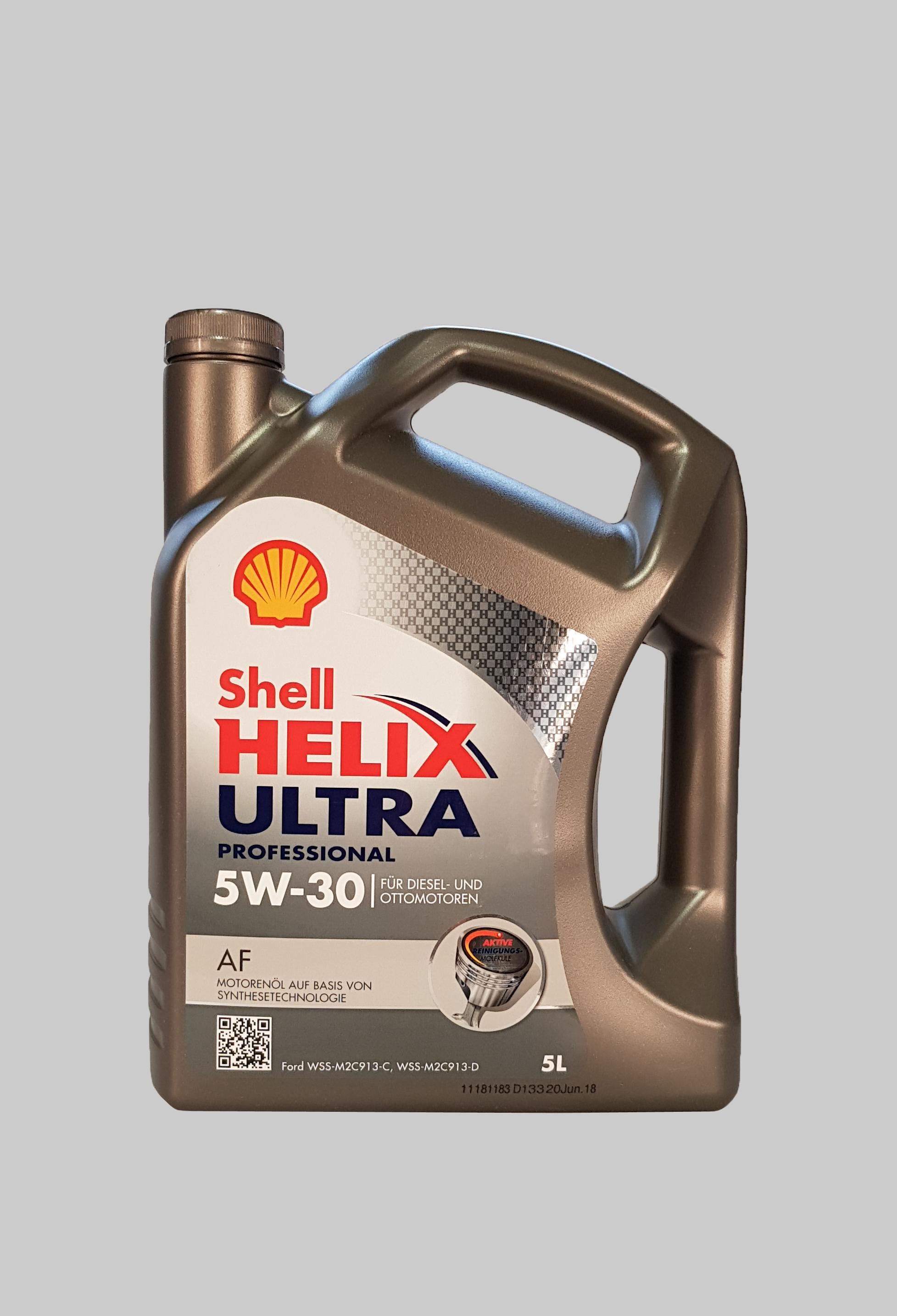 Shell Helix Ultra Professional AF 5W-30 5 Liter