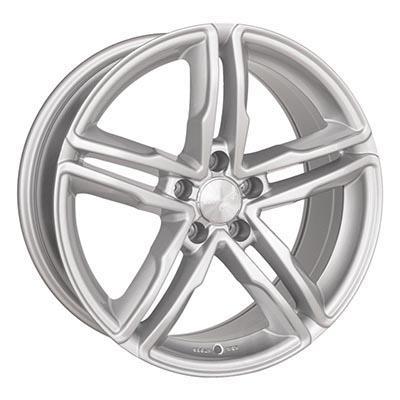 2DRV Wh11 Full silver 9x20 5x112 ET37