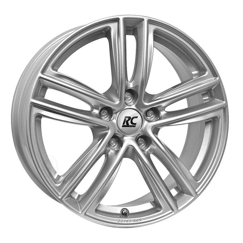 RC Design Rc27 Kristallsilber ks 6.5x16 5x112 ET54