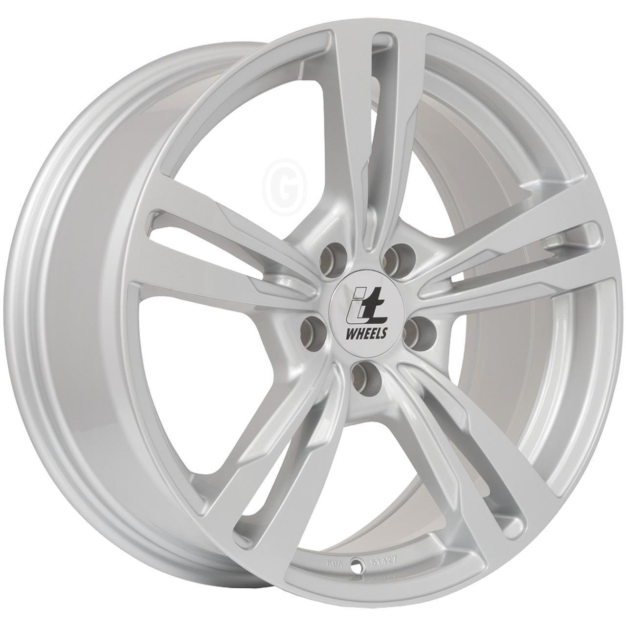 Itwheels Anna Silver glossy 8.5x20 5x112 ET45