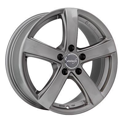 Wheelworld Wh24 Daytona grey full painted 7.5x17 5x108 ET44