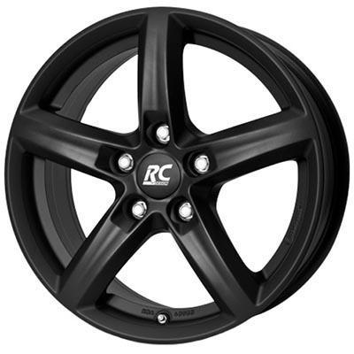 RC Design Rc24 Black clear matt 6x15 5x114.3 ET45