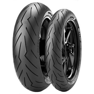 Pirelli Diablo Rosso 3 Front 120/70ZR17 M/C (58W) TL