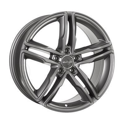 Wheelworld Wh11 Daytona grey full painted 7.5x17 5x112 ET28