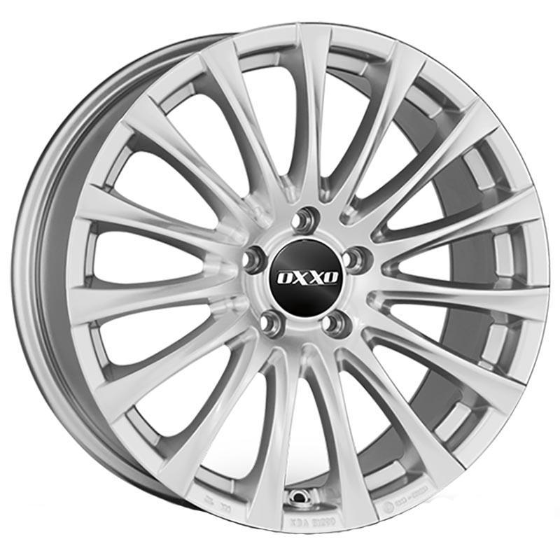 Oxxo Elan Silver 7.5x18 5x112 ET33