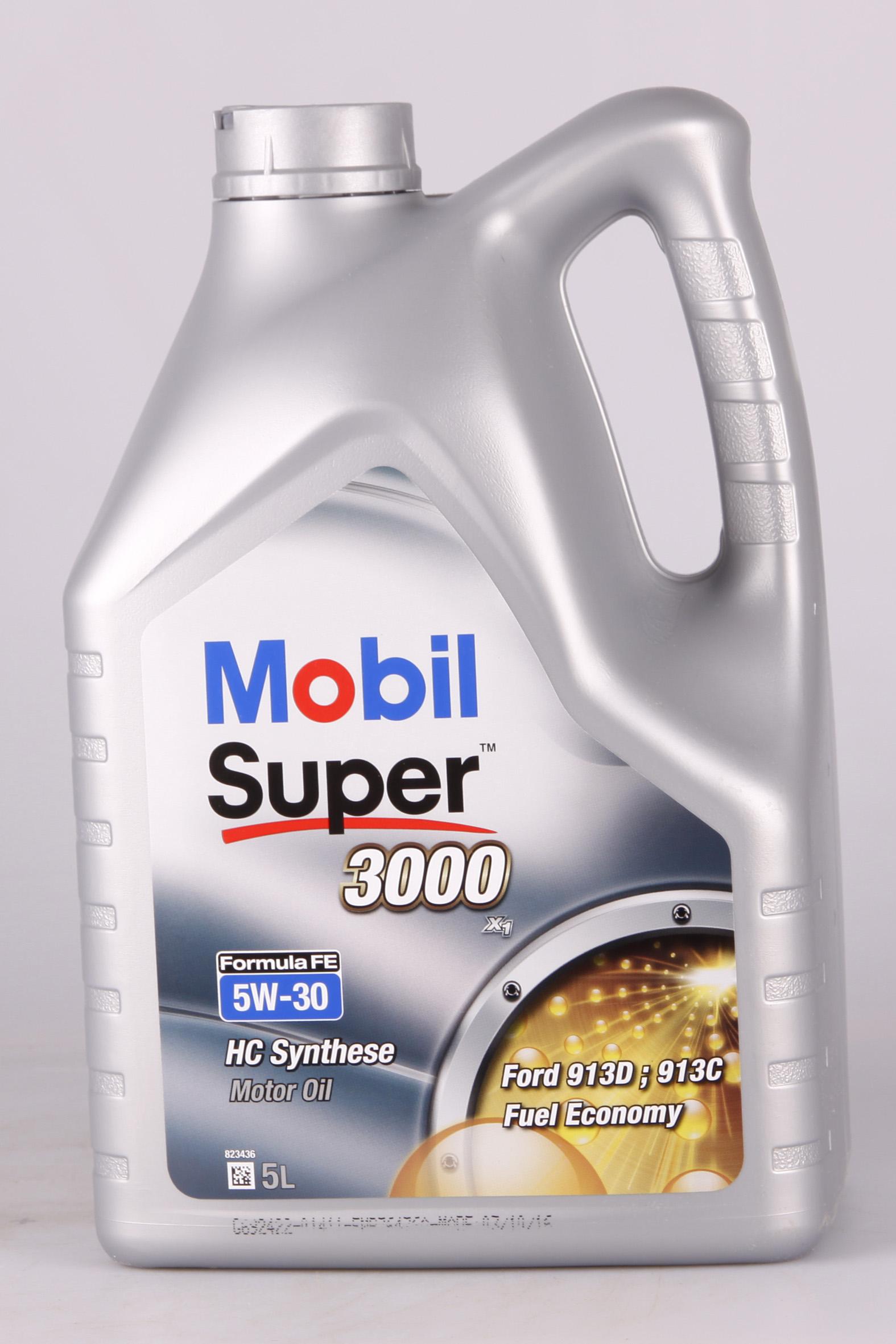 Mobil Super 3000 X1 Formula FE 5W-30 5 Liter
