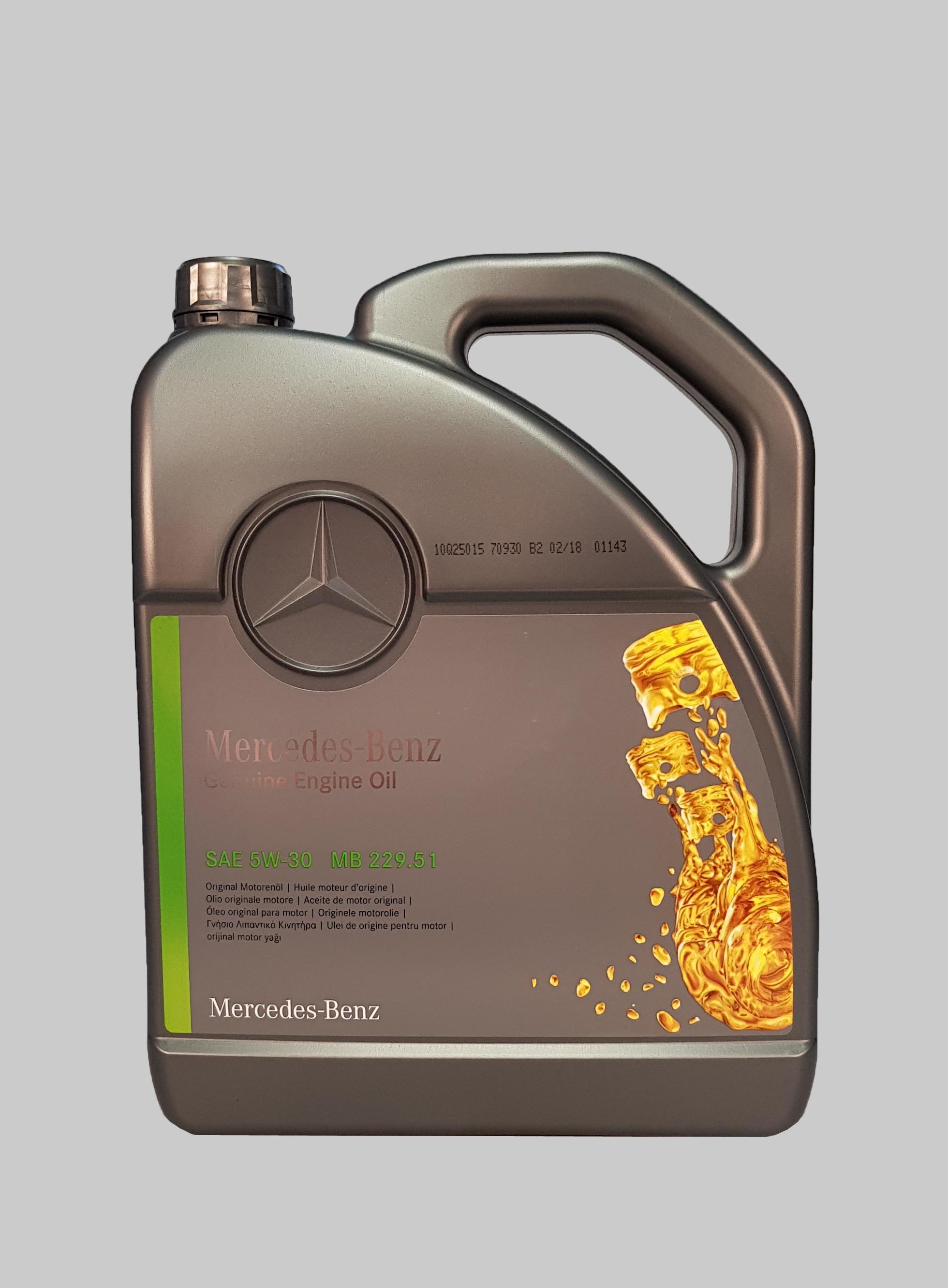 Mercedes 5W-30 229.51 5 Liter