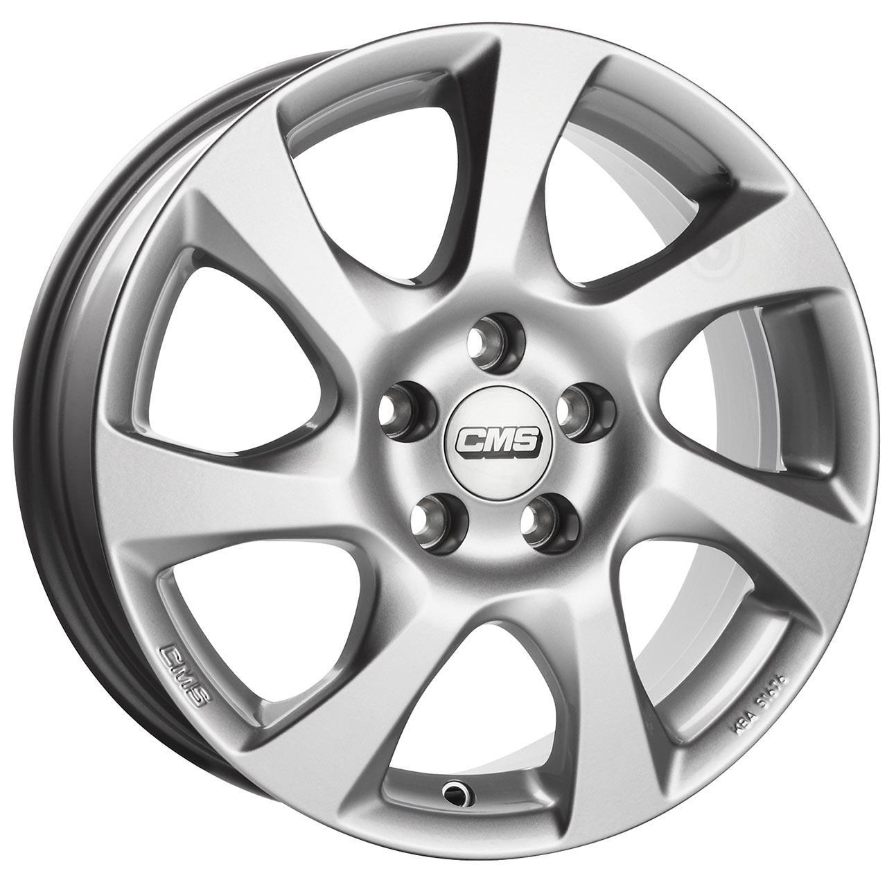 CMS C24 Silver 6.5x16 4x100 ET40