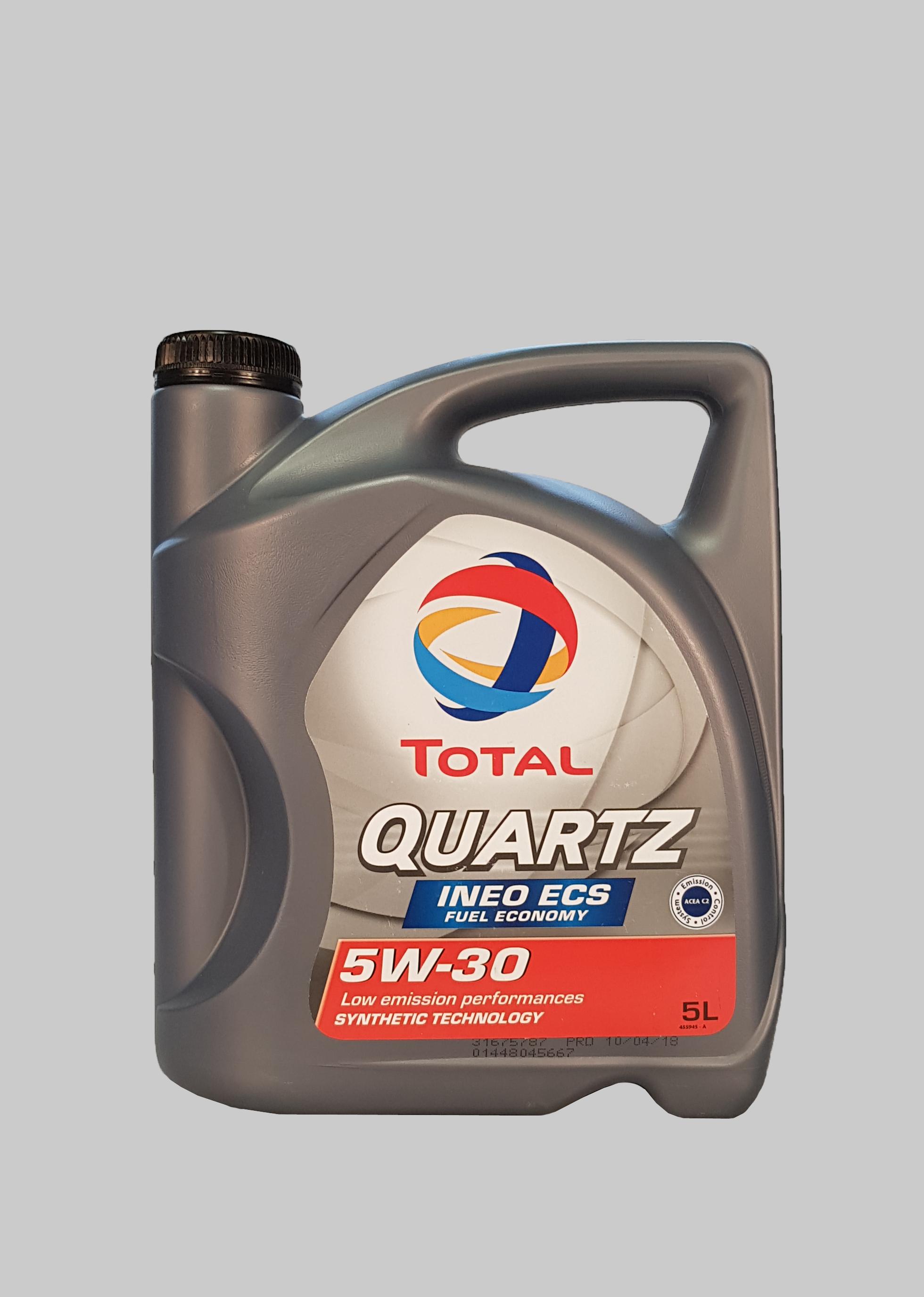 Total Quartz Ineo ECS 5W-30 5 Liter