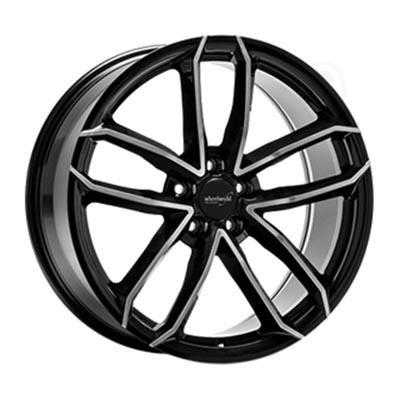 Wheelworld Wh33 Black full machined 8x18 5x112 ET45
