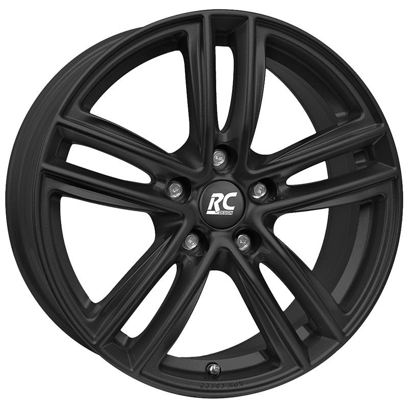 RC Design Rc27 Schwarz klar matt skm 6.5x16 5x112 ET44