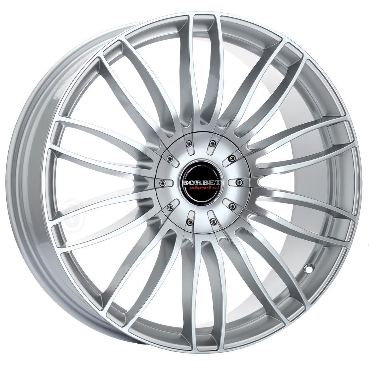 Borbet Cw 3 Sterling silver 10.5x21 5x120 ET35