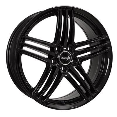 Wheelworld Wh12 Black glossy painted 9x20 5x112 ET37