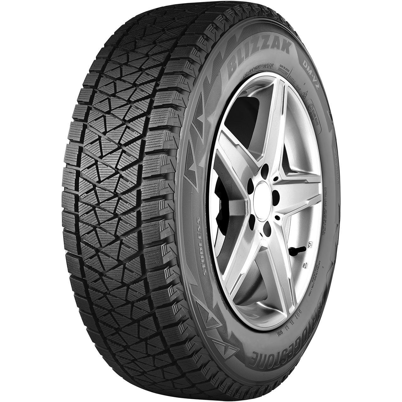 Bridgestone Blizzak DM V2 235/60R18 107S XL MFS M+S