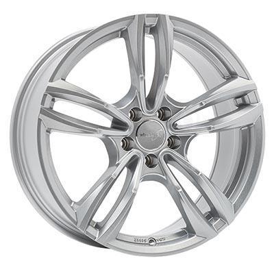 Wheelworld Wh29 Full silver 8.5x18 5x120 ET35