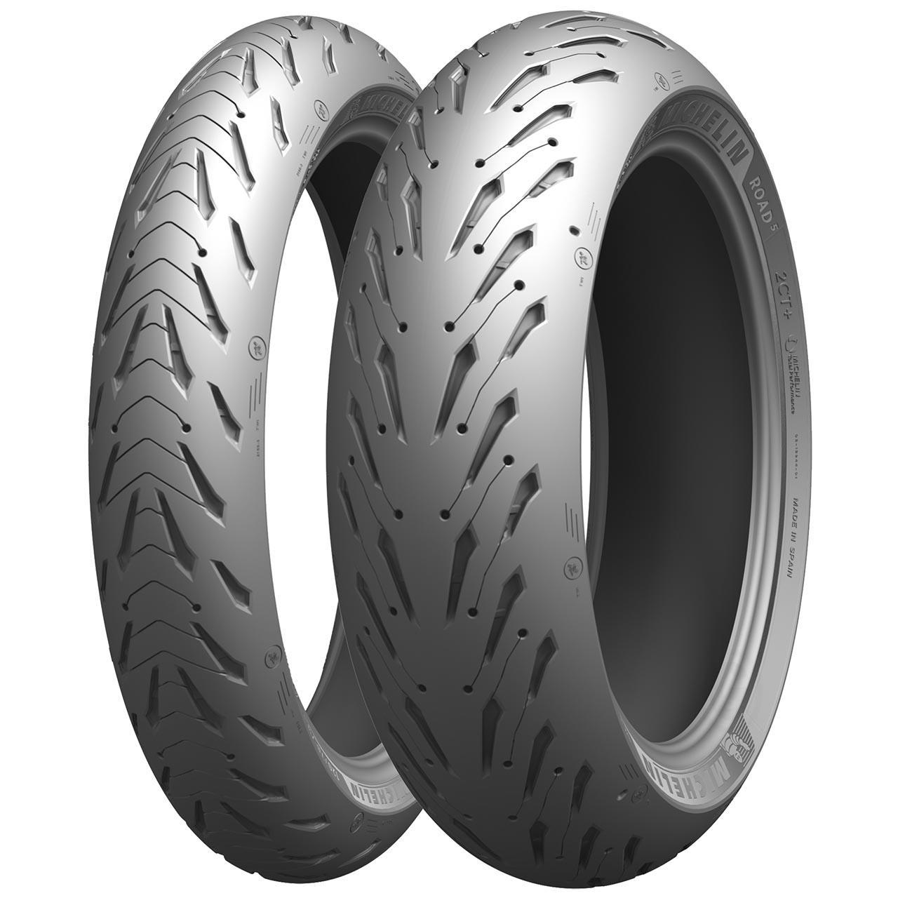 Michelin Pilot Road 5 Rear 190/55ZR17 M/C (75W) TL