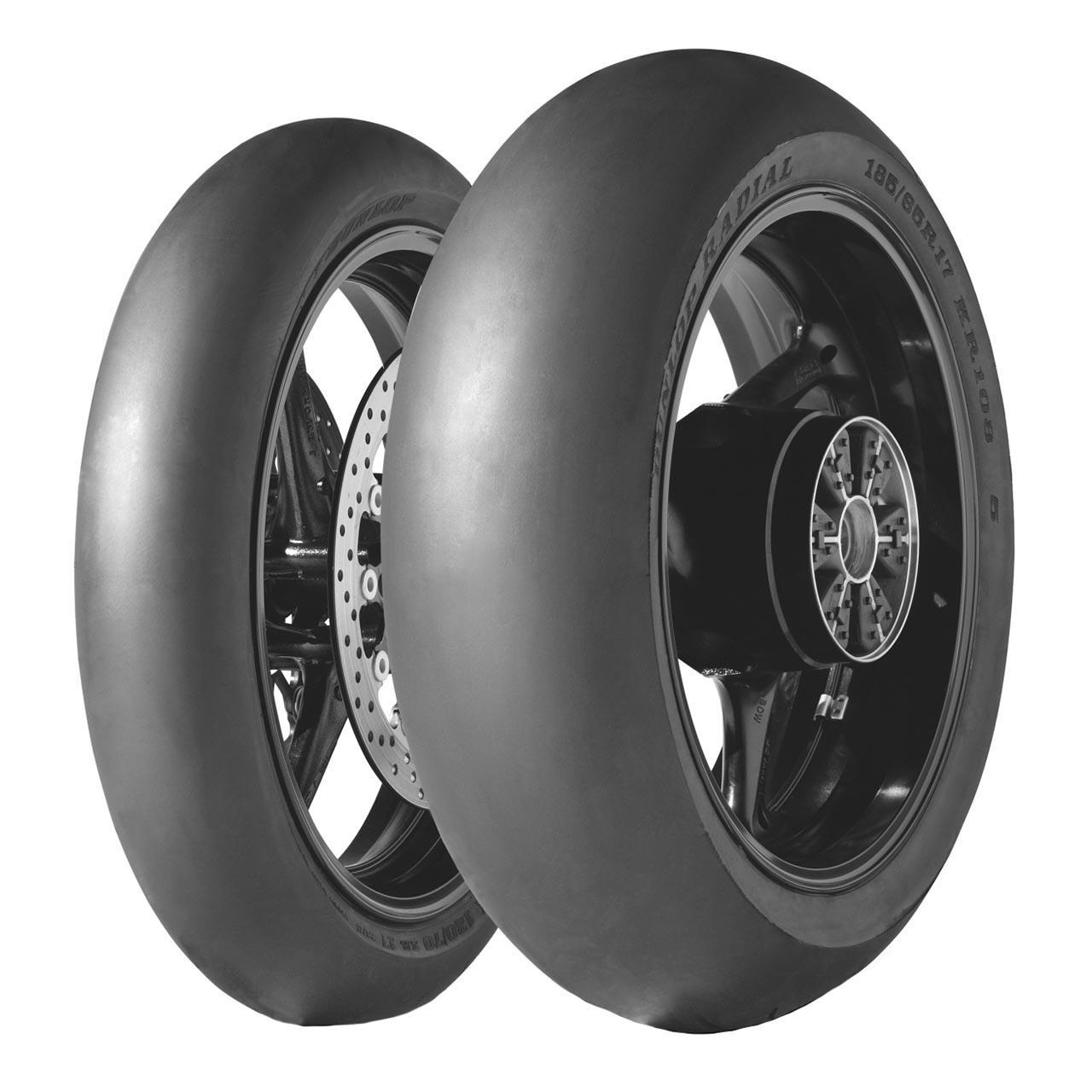 Dunlop KR 106 MS4 302 Front NHS 120/70R17 TL