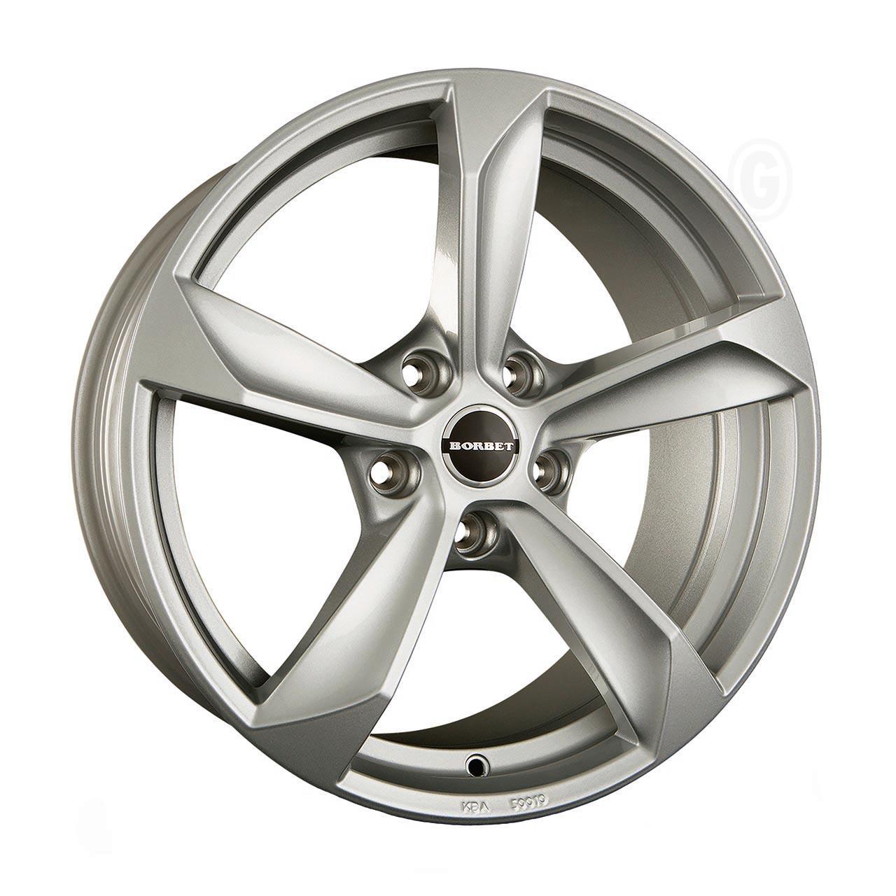 Borbet S Brilliant silver 9x20 5x112 ET20
