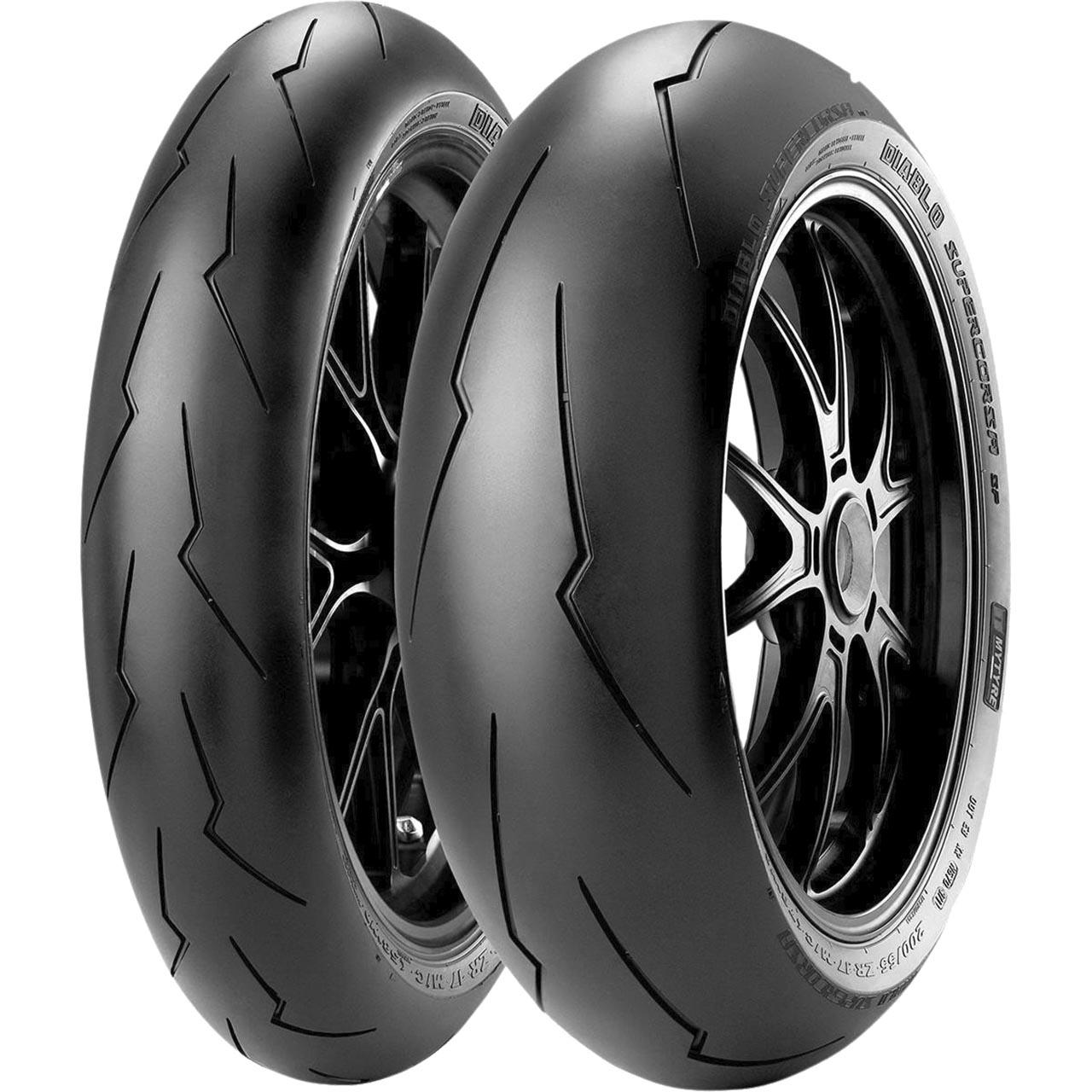 Pirelli Diablo Supercorsa V3 SP Rear 200/60ZR17 M/C (80W) TL