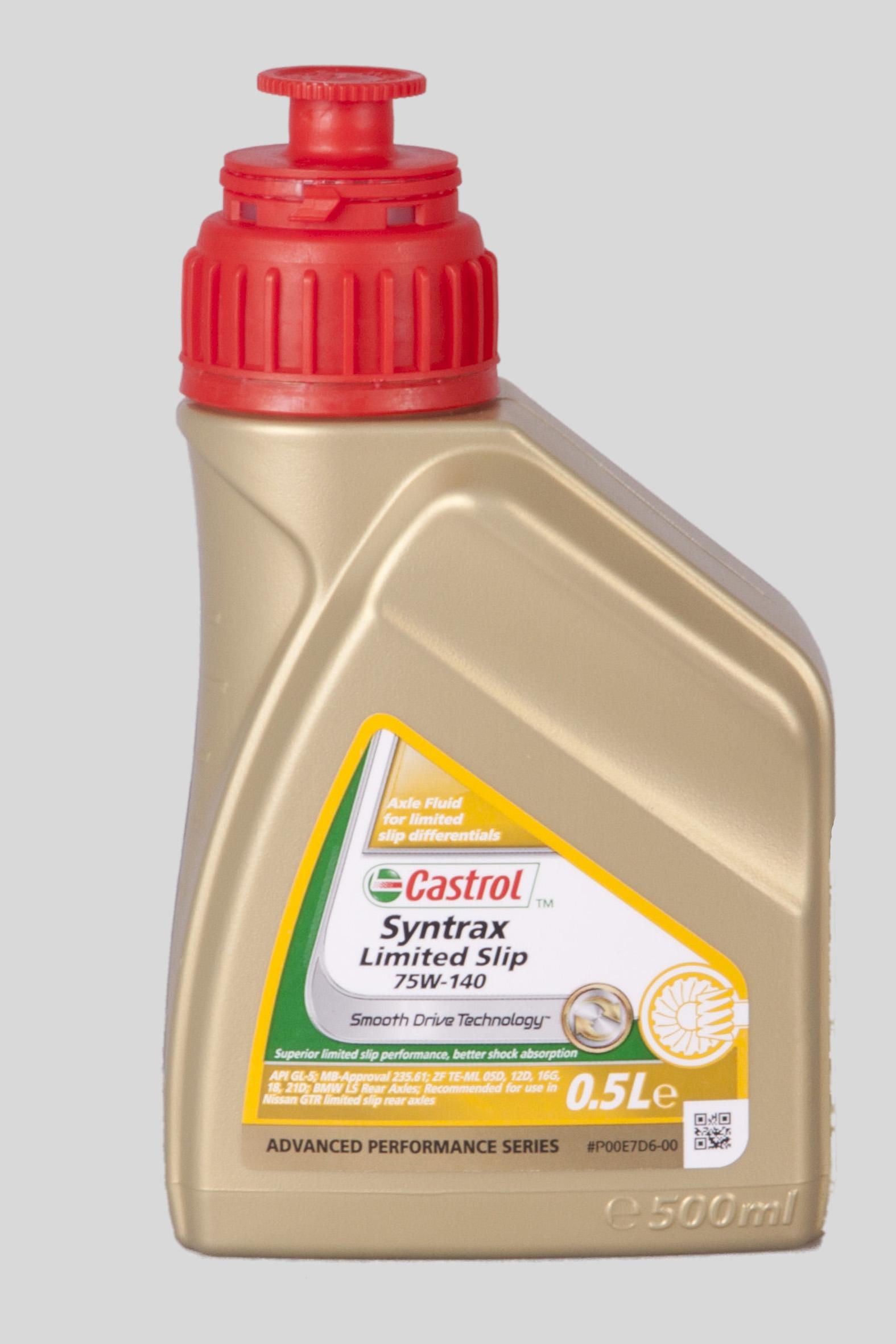 Castrol Syntrax Limited Slip 75W-140 500ml