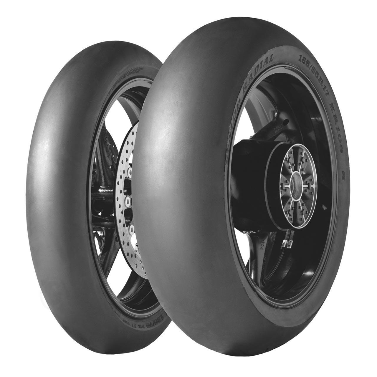 Dunlop KR 108 MS2 H998 Rear NHS 195/65R17 TL
