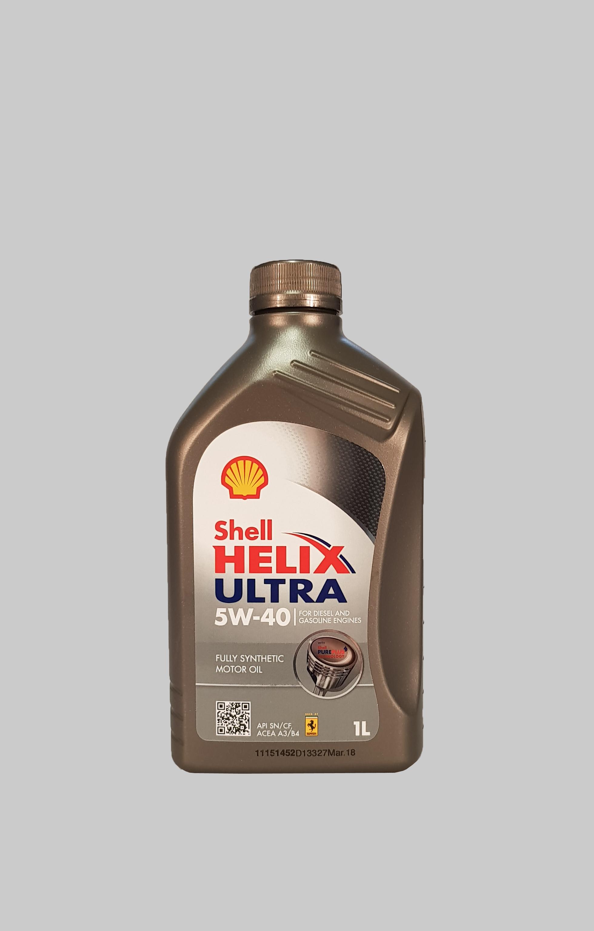 Shell Helix Ultra 5W-40 1 Liter