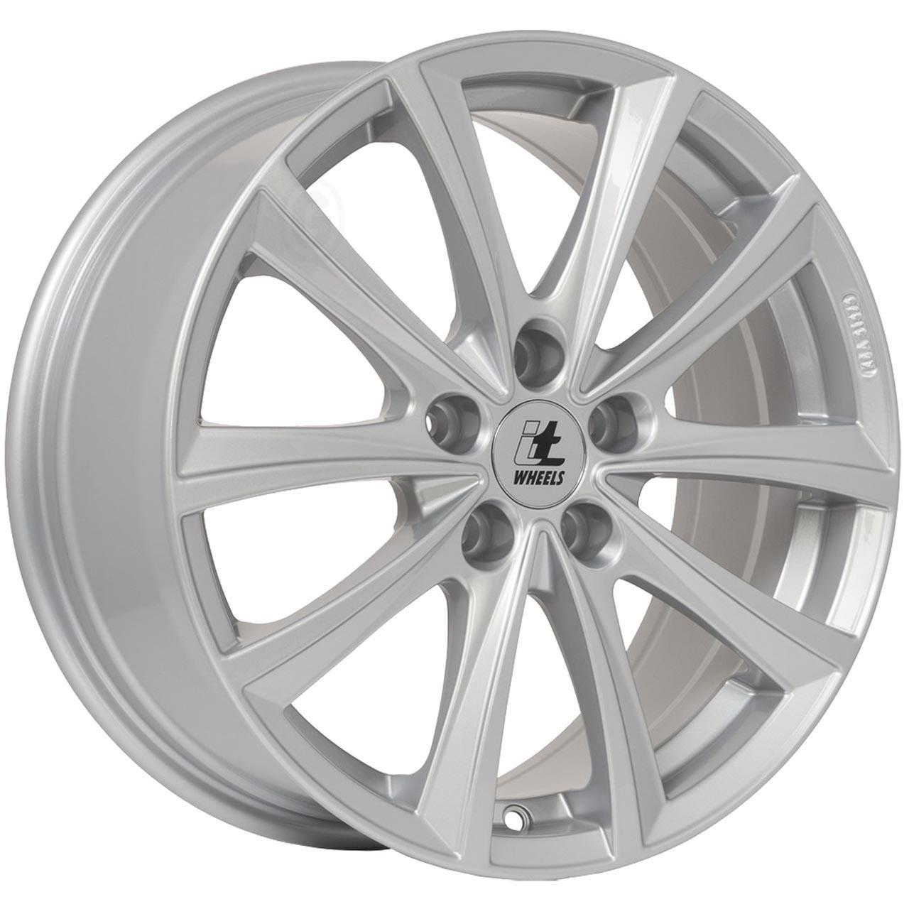 Itwheels Elena Silver glossy 8x18 5x108 ET45