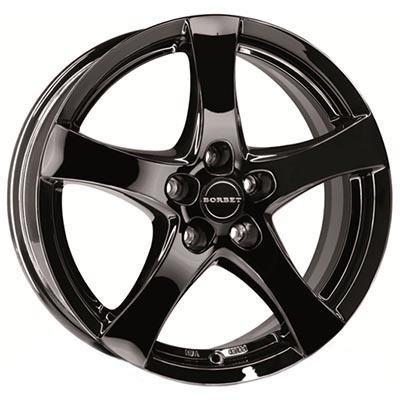 Borbet F Black glossy 6.5x16 5x114.3 ET50