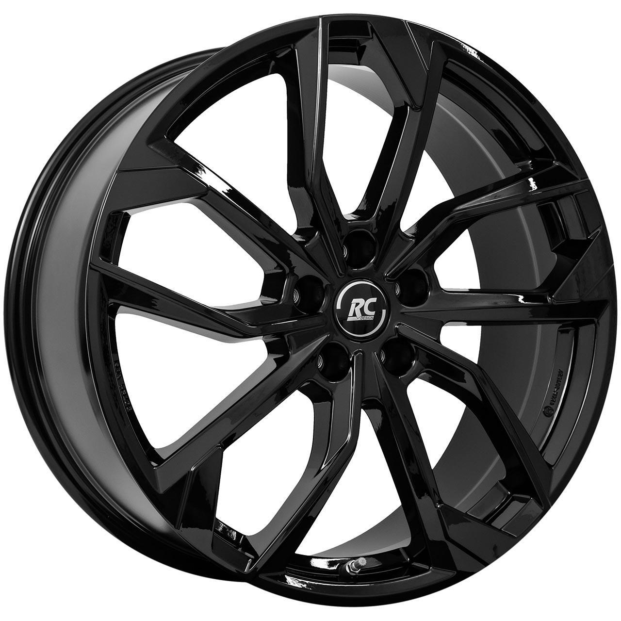 RC Design Rc34 Black glossy 8x18 5x108 ET44