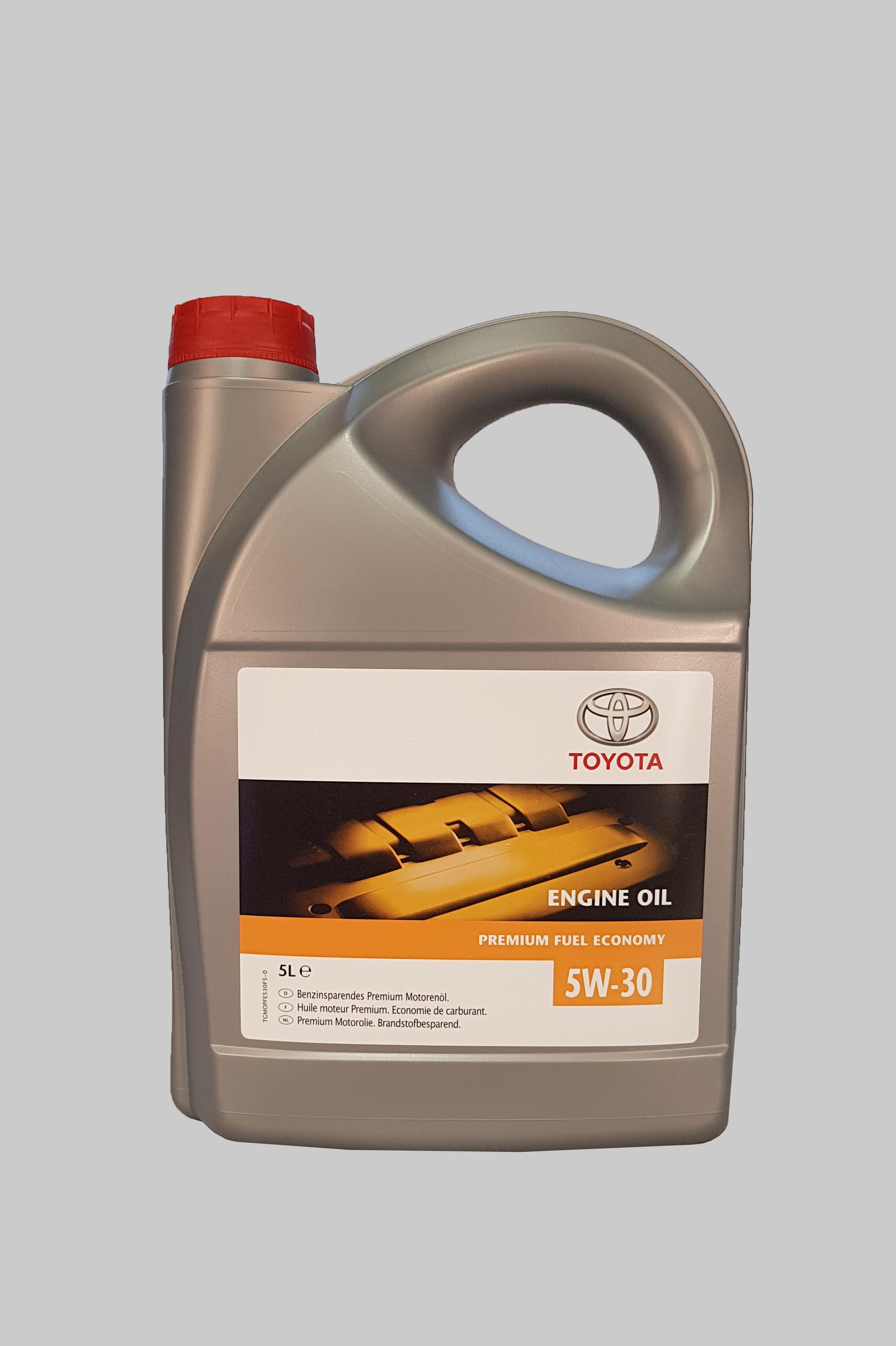 Toyota Premium Fuel Economy 5W-30 C2 5 Liter