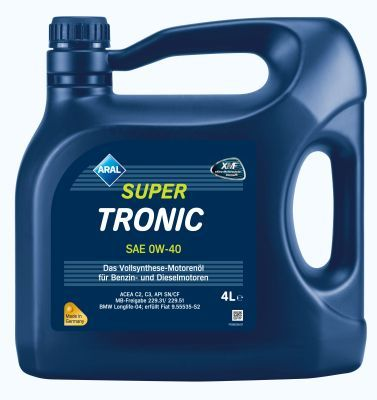 Aral SuperTronic 0W-40 4 Liter