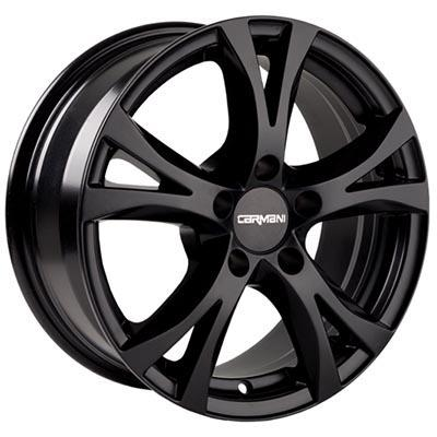 Carmani 09 compete Black matt 6.5x16 5x100 ET38