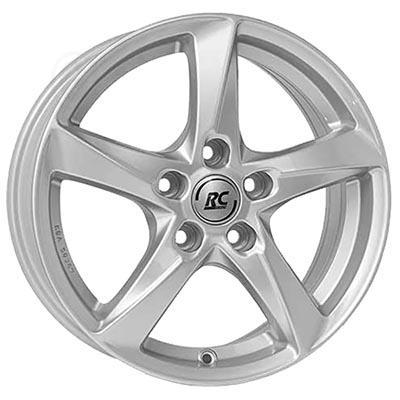 RC Design Rc30 Crystal silver 6.5x16 5x112 ET46