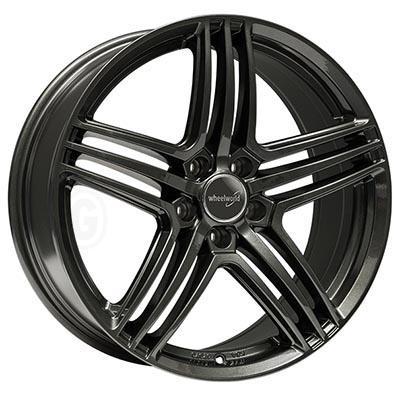Wheelworld Wh12 Dark gunmetal full painted 7.5x17 5x114 ET45